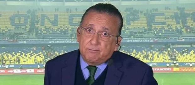 Globo toma decisão drástica e corta salário milionário de Galvão Bueno. (foto reprodução)