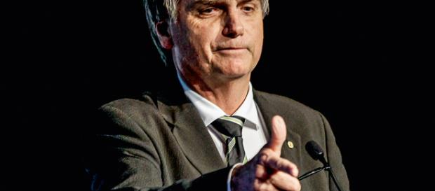 Jair Messias Bolsonario, candidat de l'extrême-droite brésilien
