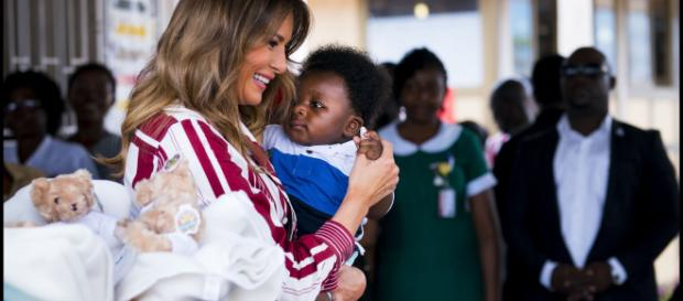 USA Ghana : Mélania Trump en visite officielle d'une semaine sur ... - africapostnews.com