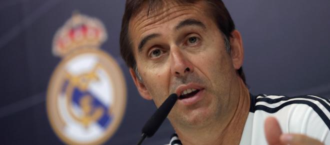 La semana negra de Lopetegui en el Real Madrid