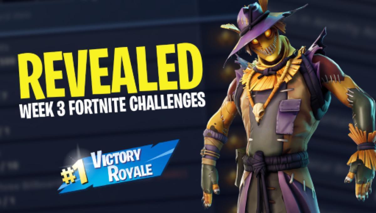 Fortnite Battle Royale Season 6 Week 3 Challenges Revealed