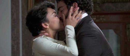 Anticipazioni, Una Vita: Blanca promessa sposa di Samuel bacia Diego