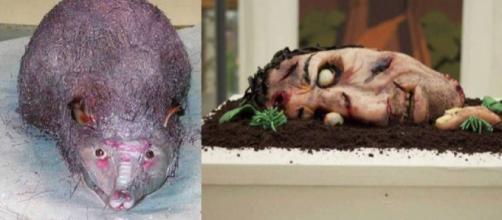 Esses bolos certamente se destacaram pela forma peculiar