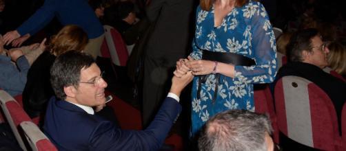 """Chi è Carlotta Mantovan, la moglie in Frizzi: """"All'inizio ... - liberoquotidiano.it"""