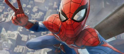 Homem-Aranha no novo jogo da Sony.