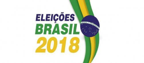 Logotipo das eleições 2018 divulgado no site do TSE (Imagem: Reprodução/TSE)