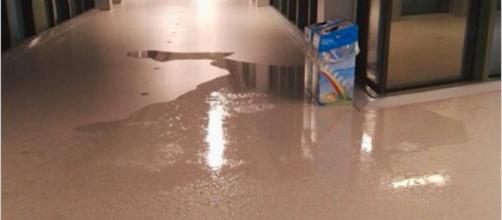 Napoli choc, pioggia a cascate nell'ospedale del Mare - Il Mattino