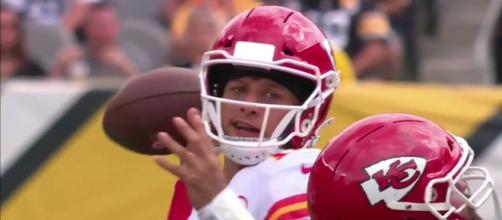 Patrick Mahomes will try to keep the Chiefs unbeaten when they host the Jacksonville Jaguars in Week 5. - [Gridiron Films / YouTube screencap]