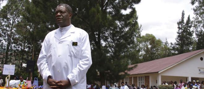 Le médecin francophone Denis Mukwege, Prix Nobel de la paix