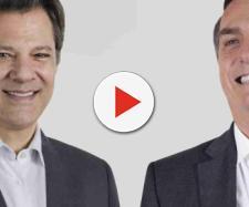 As propostas de Fernando Haddad e Jair Bolsonaro para o ensino básico, médio e superior. (foto reprodução).
