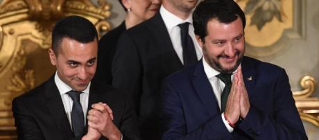 I due Vicepresidenti del Consiglio Luigi Di Maio e Matteo Salvini.