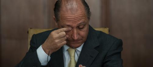 Alckmin teve menos de 5% dos votos válidos.