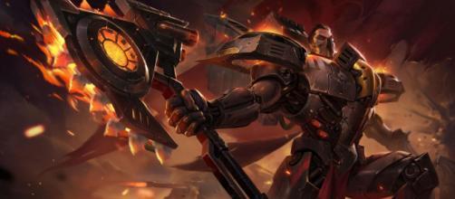 Darius, conciderado entre los mejores campeones para el carril superior en League Of Legends