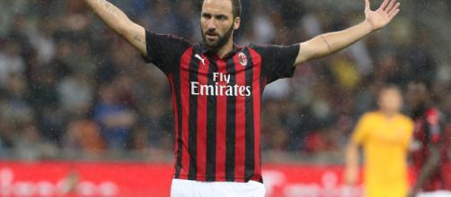 Gonzalo Gerardo Higuaìn, attaccante del Milan.