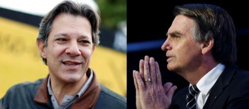 Jair Bolsonaro e Fernando Haddad disputarão o segundo turno