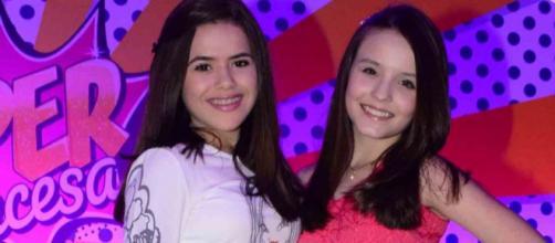 Maísa e Larissa Manoela podem ir para a Globo em 2019. (foto reprodução).