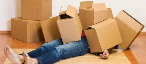 Mudar de casa é uma mistura de tristeza, alegria, impaciência e muito trabalho. (foto reprodução)