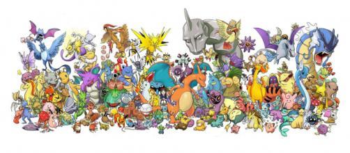 Os 151 Pokémon da região de Kanto.