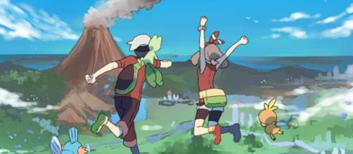 Os protagonistas do jogo da terceira geração.