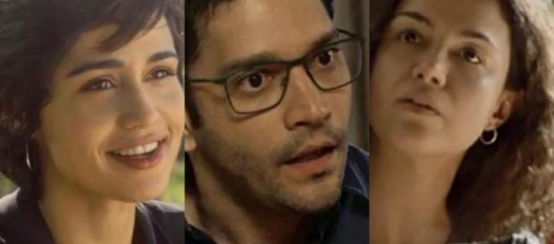 Maura, Ionan e Selma irão iniciar um relacionamento a três na novela das 21 horas