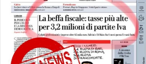 """Movimento 5 Stelle: """"l'aumento delle tasse per la partita iva è una fake news"""""""