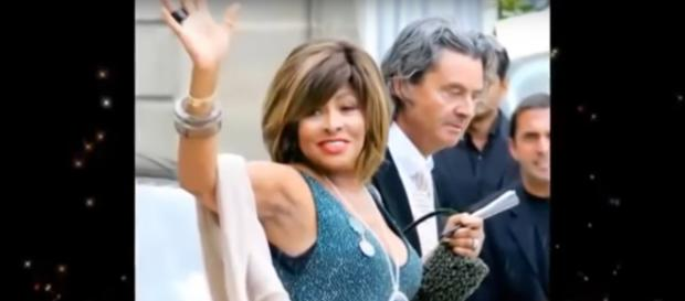 Tina Turner celebrates the gifts of love and live after transplant from husband, Erwin Bach. [Image source: The Royal UK-YouTube]