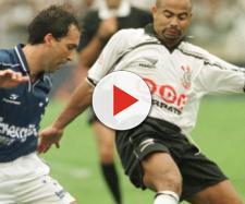 Marcelo Djean e Mirandinha durante jogo no Morumbi.