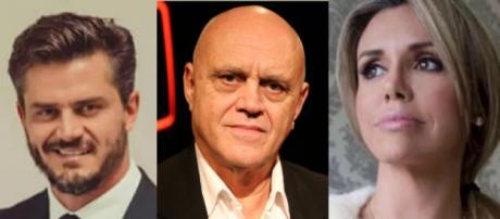 Marcos Harter, Oscar Maroni e Renata Banhara