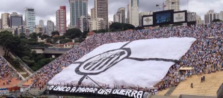 Santos tem pedido atendido e fará mosaico no Pacaembu. [Foto: MAIS SANTOS]