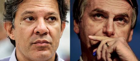 Segundo turno das eleições será decidido entre Fernando Haddad e Jair Bolsonaro