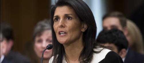 5 things to know about outgoing UN ambassador NIkki Haley [Image via foreignpolicy.com/YouTube]
