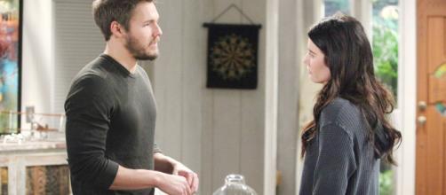 Beautiful, anticipazioni 15-20 ottobre: Liam consegna a Steffy le carte per il divorzio