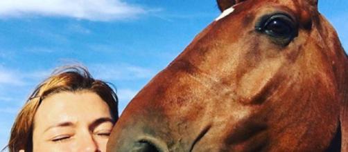 Carlotta Mantovan e la passione per i cavalli.