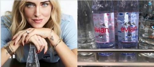 Chiara Ferragni: le bottiglie d'acqua firmate costano 8 euro ciascuna - Il Mattino