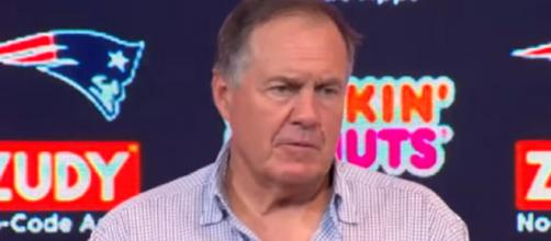 Coach Bill Belichick is expecting a tough game against Chiefs. - [New England Patriots / YouTube screencap]