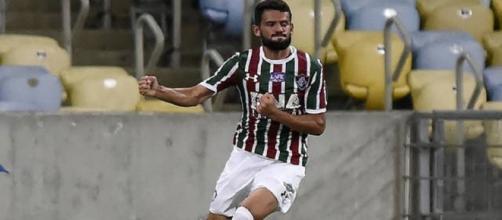 Com dois gols, Jádson foi um dos destaques da goleada do Flu sobre o Paraná (Foto: Hector Werlang)