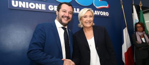 Europee, Salvini e Le Pen lanciano il 'Fronte della libertà'