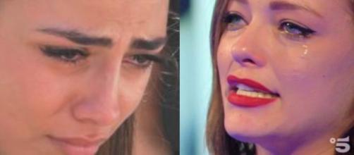 Grande Fratello Vip: La Salemi in lacrime per i genitori, Francesco consola Silvia