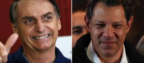 Haddad e Bolsonaro participaram do Jornal Nacional