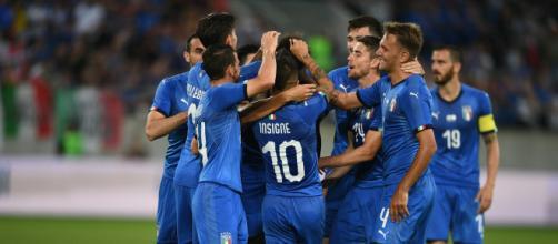 Nazionale italiana per Italia Ucraina