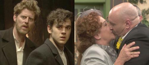 Trame, Il Segreto: Dolores si sposa, la fuga di Nicolas ed Irene va a convivere con Severo