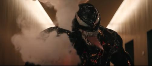 'Venom' bypassed critics' disparaging reviews to earn over $80 million at the US box office.- [Sony Pictures / YouTube screencap]