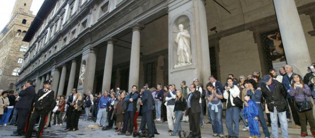 Mai più code per visitare la Galleria degli Uffizi a Firenze