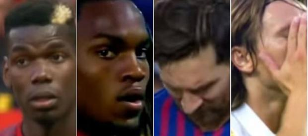 Pogba, Renato, Sanches, Messi e Modric [Imagens via YouTube]