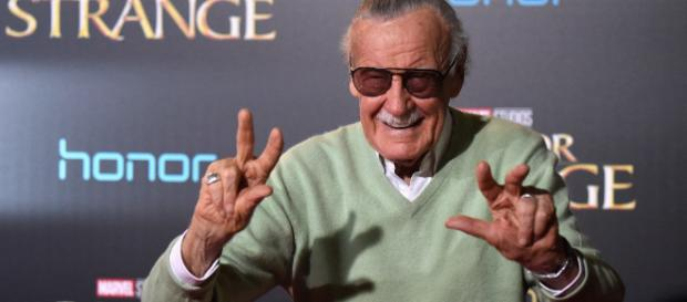 Stan Lee says there is only occasional family spats between his daughter and himself. [Image Credit] Collider - YouTube