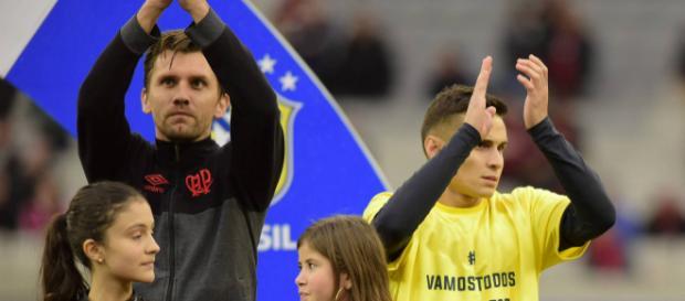 CBF não teria autorizado Atlético a entrar em campo com mensagem