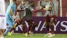 Na raça, Flu derrota o Nacional e arranca vaga para as semifinais da Copa Sul-Americana