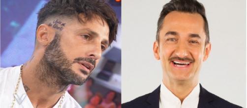 Fabrizio Corona insulta Nicola Savino su Instagram: 'Un nano che non sa fare nulla'.