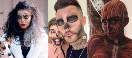 Les candidats de télé-réalité fêtent Halloween 2018 comme ils se doit.