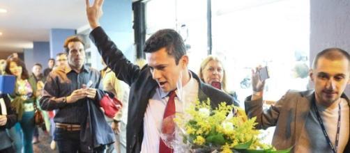 Moro é cotado para o superministério da Justiça de Bolsonaro. (foto reprodução).